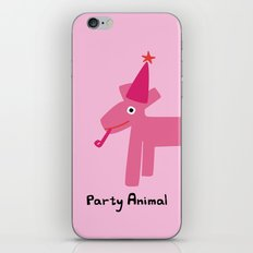 Party Animal-Pink iPhone & iPod Skin