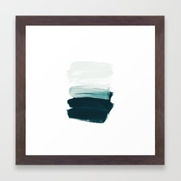 brushstrokes 13 Framed Art Print