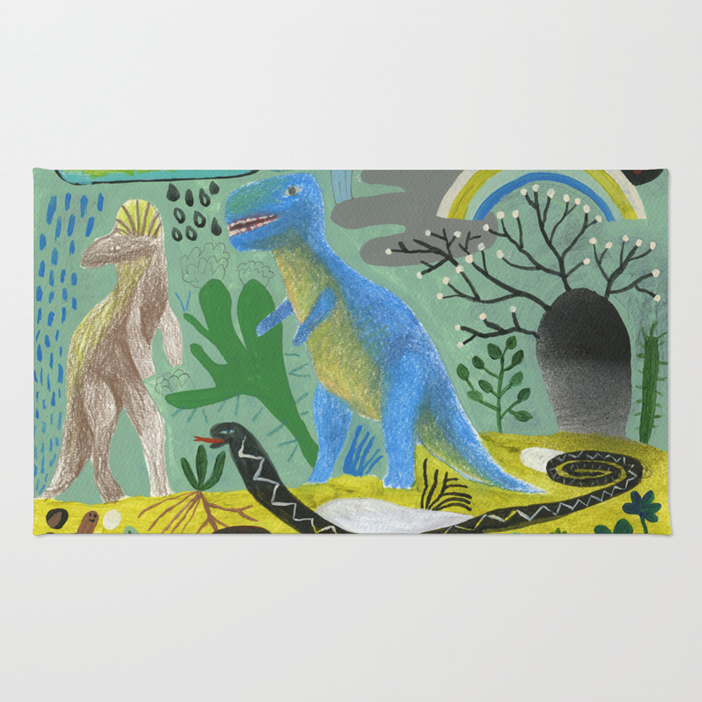 Ice Age Rug by Beastfromeast RUG7885112