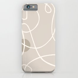 Laced up 2 iPhone Case