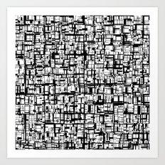 Abstract Mosaic  Art Print