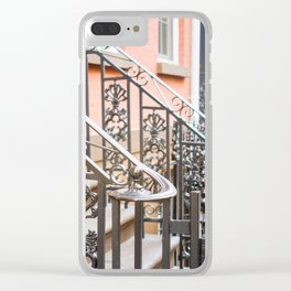 One Day in New York Clear iPhone Case