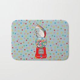 Unicorn Gumball Poop Bath Mat