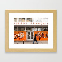 Collège Français Framed Art Print