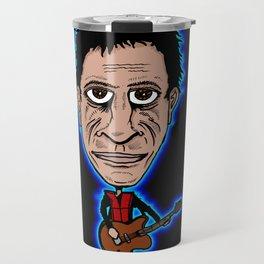 Lou Reed Rock God Travel Mug