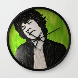 Young Mick Wall Clock
