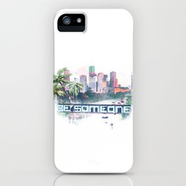 Be someone Huston iPhone Case