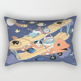 The Flying Night Rectangular Pillow