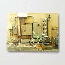 Savannah Alleyway 2 Metal Print
