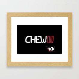 Chew Cud Framed Art Print