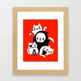 Death's Little Helpers Framed Art Print
