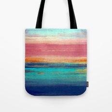 Retro Sunset Tote Bag