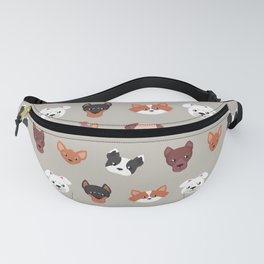 Dogs Dogs Dogs Fanny Pack