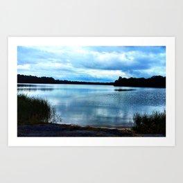 Still Pond Art Print