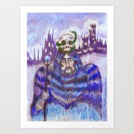 Guard of the Sacred Mountains  Art Print