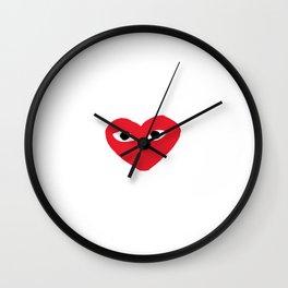 commes des garcons Wall Clock