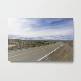 Patagonian Roads Metal Print