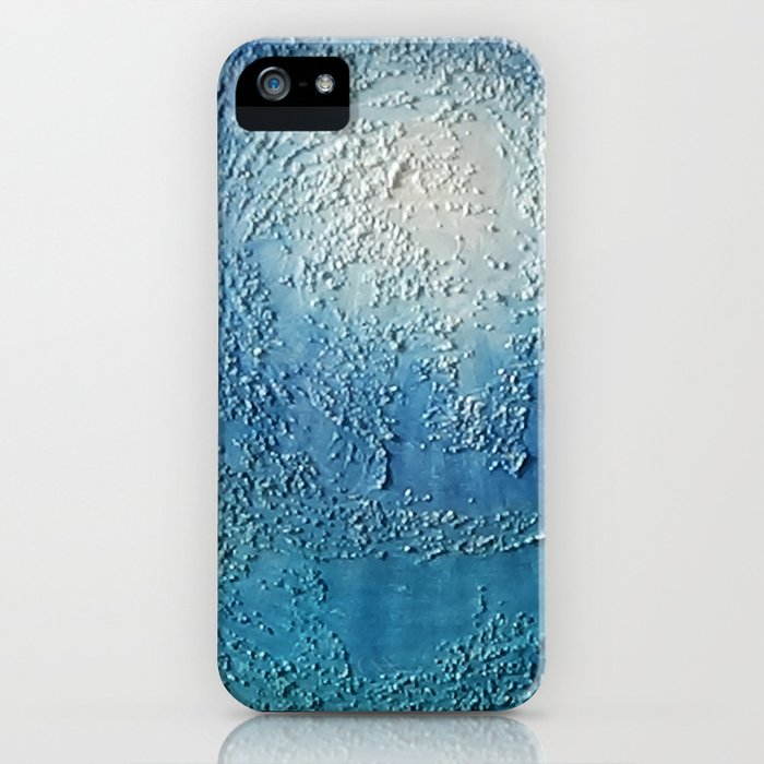 Toward the Water Surface / Oil Painting iPhone Case