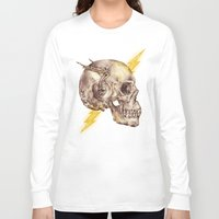 flash Long Sleeve T-shirts featuring Flash by Alan Maia