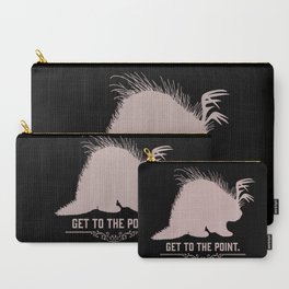 Get to the Point - Porculope Silhouette Carry-All Pouch