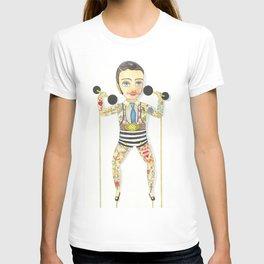 Circus strong man T-shirt