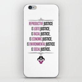 Justice iPhone Skin