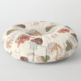 Hermit Crabs Floor Pillow