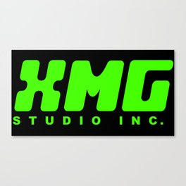 XMG Studio, Green Canvas Print