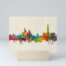 Ho Chi Minh City Saigon Vietnam Skyline Mini Art Print