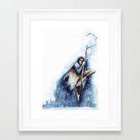 jack frost Framed Art Prints featuring Jack Frost by Ines92