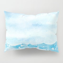 Sea and the sky Pillow Sham