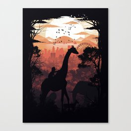 From City to Jungle Canvas Print