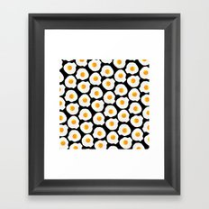 with bread and butter Framed Art Print