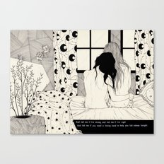 The Tell Tale Heart Canvas Print