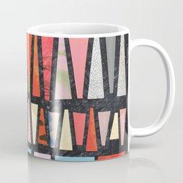 Pink Pyramid Pattern Coffee Mug