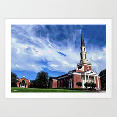 FUMC  125th Anniversary  Art Print