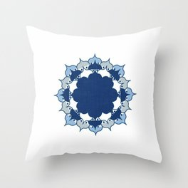Lotus Mandala 1.0 Throw Pillow
