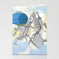 led zeppelin Stationery Cards featuring Zeppelin by elambonebright