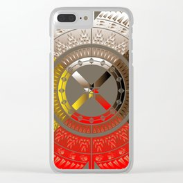 The Four Direction Clear iPhone Case