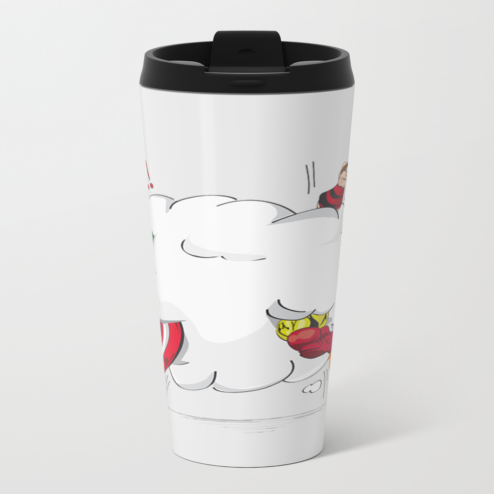 Heroes Fight Travel Mug TRM7906289