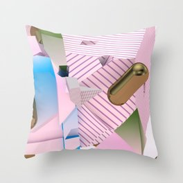 four sixty one Throw Pillow