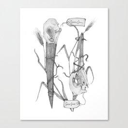 The Farmer and the Stork Canvas Print