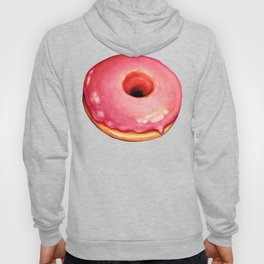 Strawberry Donut Pattern Hoody