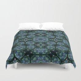 Victorian Art Deco Medieval Pattern SB14 Duvet Cover