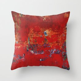 Scrubble Throw Pillow