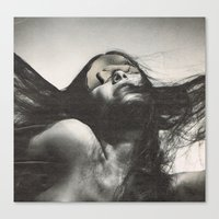 sisters Canvas Prints featuring sisters by Hugo Barros