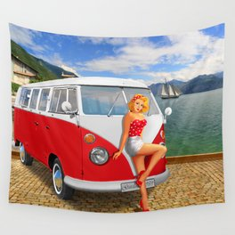 Holiday on Lake Garda in 1959 Wall Tapestry