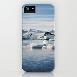 Jökulsálön iPhone Case