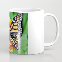 Monarch Butterfly Macro Coffee Mug
