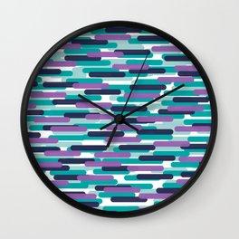 Fast Capsules 3 Wall Clock